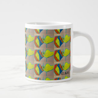 The Butterfly Large Coffee Mug