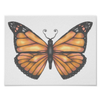 The Butterfly Project -  Monarch Poster