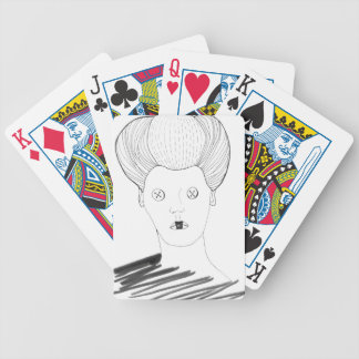 The Button Queen Bicycle Playing Cards