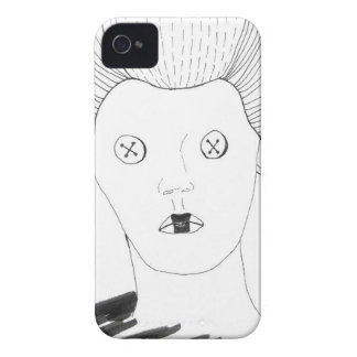 The Button Queen iPhone 4 Case-Mate Case