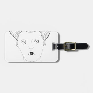The Button Queen Luggage Tag