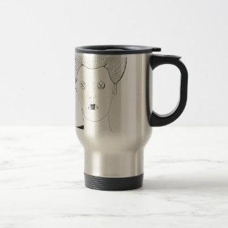 The Button Queen Travel Mug