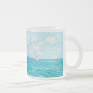 The Cabin At Saint-Adresse Frosted Glass Coffee Mug