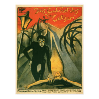 The Cabinet of Dr Caligari movie poster Postcard