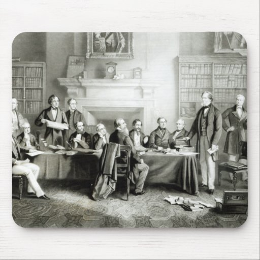 The Cabinet of Lord Derby of 1867, 1868 Mousepad
