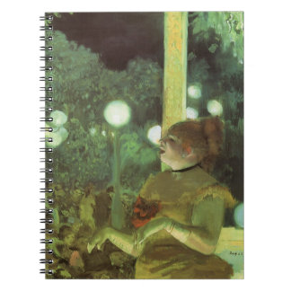 The Cafe Concert by Edgar Degas, Vintage Fine Art Note Books