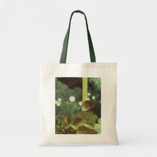 The Cafe Concert by Edgar Degas, Vintage Fine Art Tote Bag
