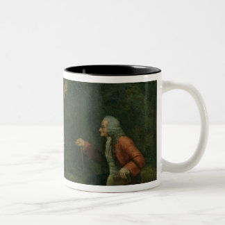 The Calas Family before Voltaire at Ferney Two-Tone Coffee Mug