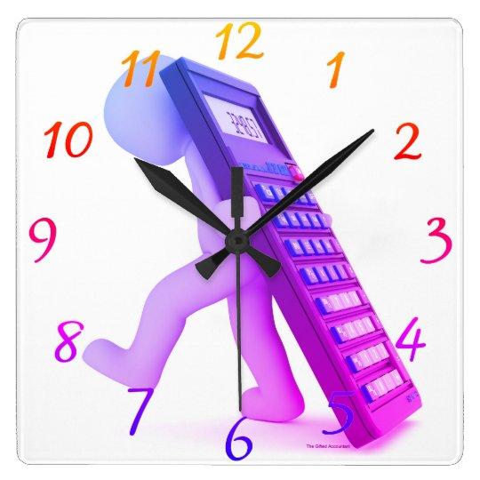 """The Calculator Carrier"" Clocks"