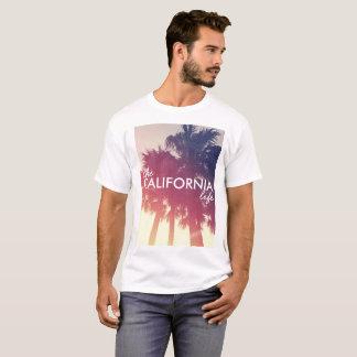 The California Life - Vintage Palm Tree Theme T-Shirt