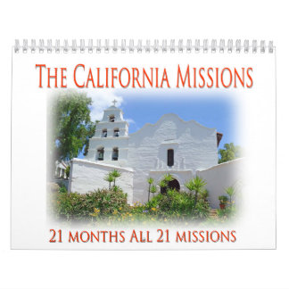 The California Missions Wall Calendars