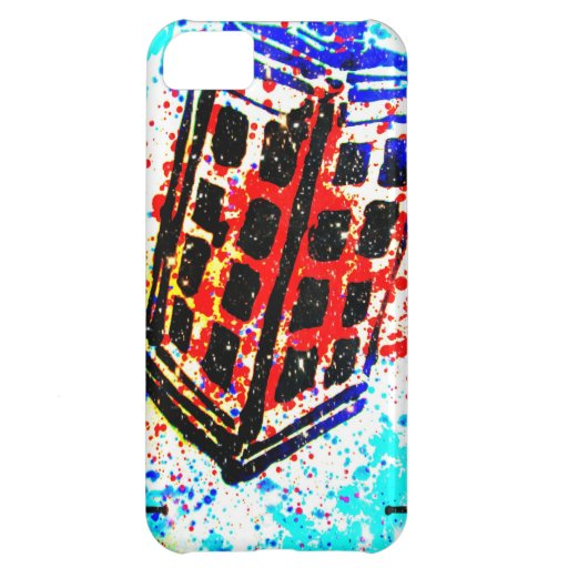 The Call Box Phone Booth I by Kara Willis iPhone 5C Cover