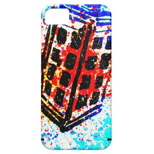 The Call Box Phone Booth I by Kara Willis iPhone 5 Case