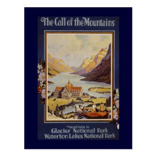 """""""The Call of the Mountains"""" Vintage Travel Postcards"""