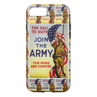 The Call to Duty ~ Join the Army iPhone 7 Case