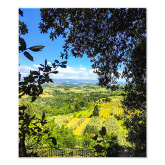 The Calm in Tuscany Photo Print