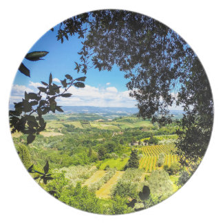 The Calm in Tuscany Photo Print Plate