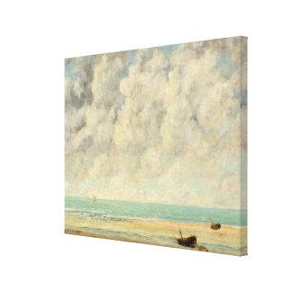 The Calm Sea Canvas Print