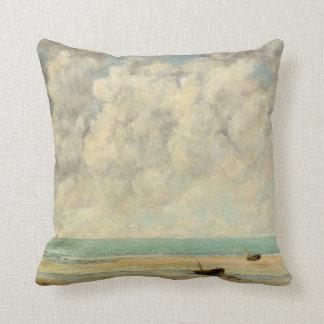 The Calm Sea Throw Pillow