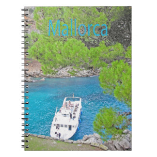 The Calobra Majorca spiral notebook