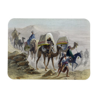 The Camel Train, from 'Constantinople and the Blac Rectangular Photo Magnet