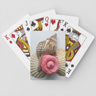 The Camellia And The Shells Playing Cards