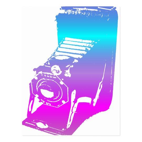 the camera - shades postcard