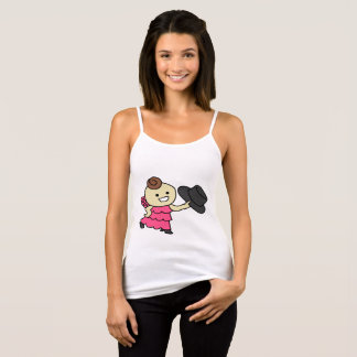 The camisole bo u it does, child black tank top