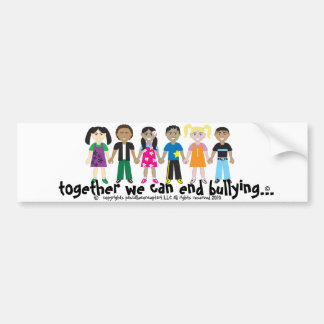 the campaign to end bullying sticker