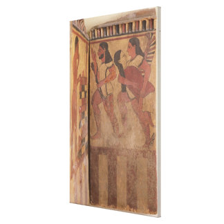 The Campana Plaque Gallery Wrapped Canvas