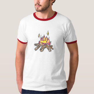 The Campfire Ringer T-Shirt