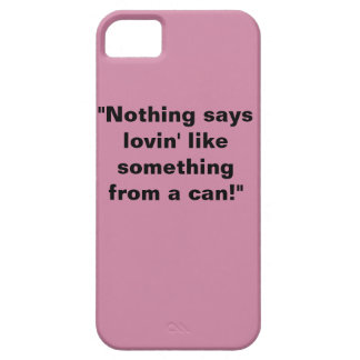 """the """"Can"""" quote iPhone case"""