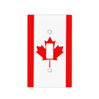 The Canadian Flag, Canada Light Switch Cover