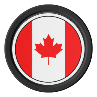 The Canadian Flag, Canada Poker Chip Set