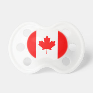 The Canadian Flag - Canada Souvenir Baby Pacifier