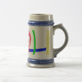 The Candle and Lightning Beer Stein