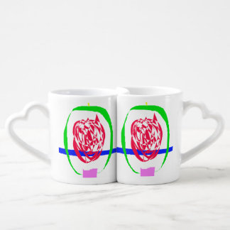 The Candle and Lightning Coffee Mug Set
