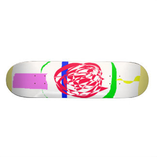The Candle and Lightning Skateboard Decks