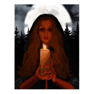 The Candle Postcard