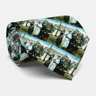 The Candy Man of Old Japan Vintage Japanese Tie