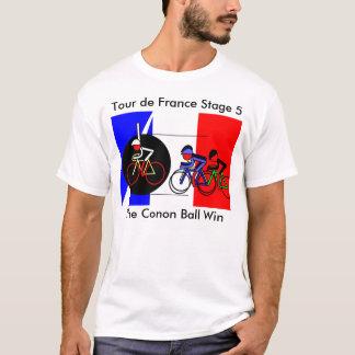 The Canon Ball Win - Tour de France T-Shirt