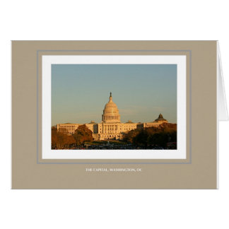 The Capital, Washington, DC Card