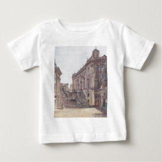 The Capitol in Rome by Rudolf von Alt Baby T-Shirt