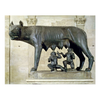 The Capitoline She-Wolf Postcard