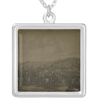 The Capitulation of Ulm in October 1805 Silver Plated Necklace