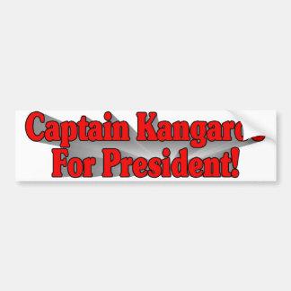 The Captain Bumper Sticker