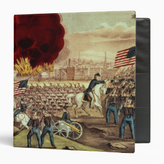 The Capture of Atlanta by the Union Army Vinyl Binders