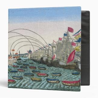 The Capture of Havana by the English in 1762 Vinyl Binder