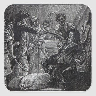 The Capture of Wolfe Tone in 1798 Stickers