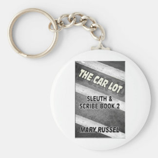 the car lot cover front large basic round button keychain